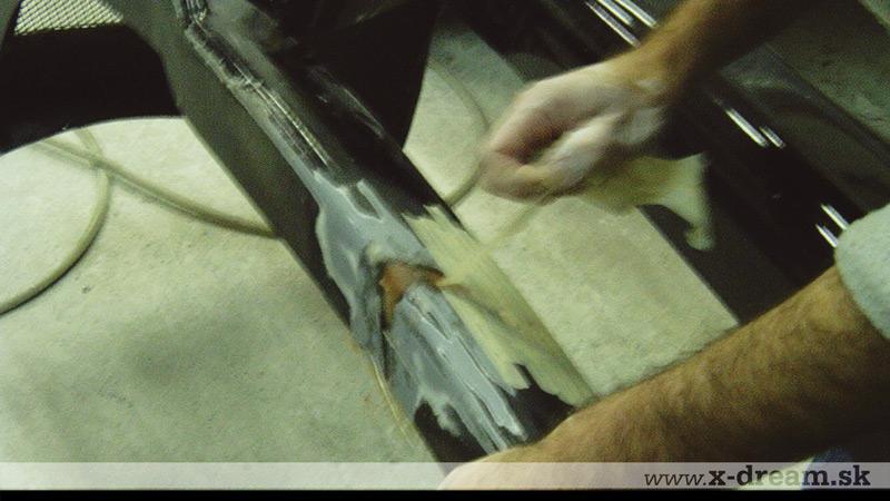 Oprava laminátového nárazníka