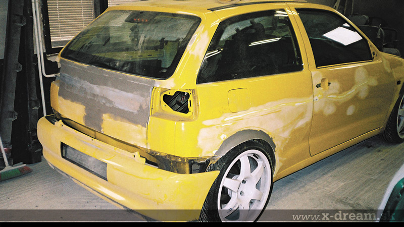 Montáž – Seat Ibiza Cupra